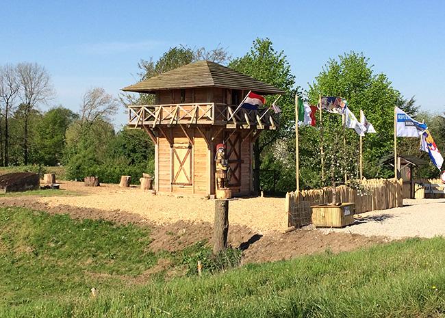 De limes beter zichtbaar: romeinse wachttoren in opheusden officieel